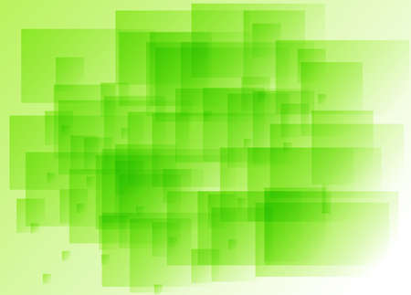 Abstract green background with rectangular elements Stock Photo