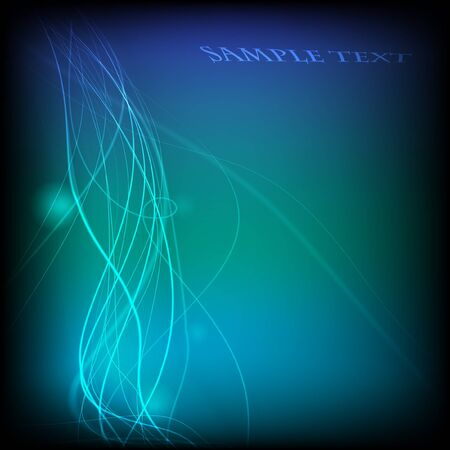 Futuristic background with flowing lines