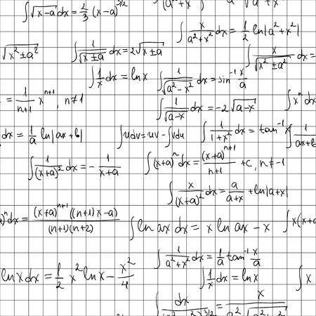 integral: Matem�ticas sin fisuras patr�n. Azulejos para el fondo sin fin