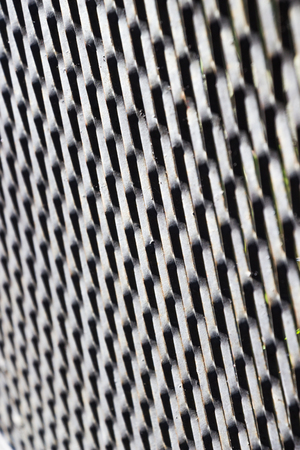 grid: Metallic abstract grid background Stock Photo