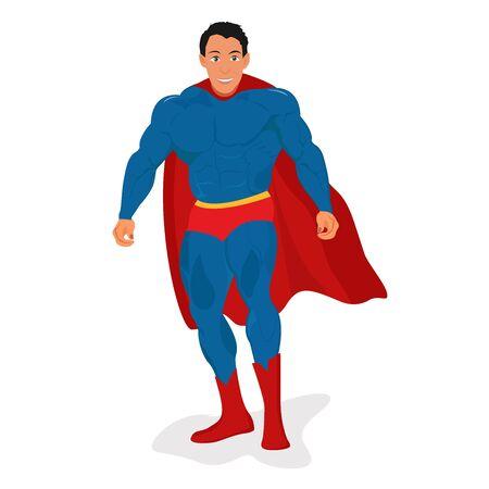 brawny: hero, illustration