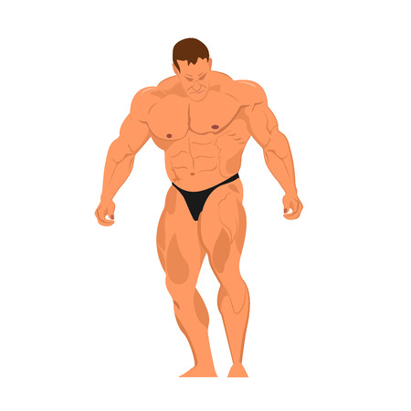 activity, biceps, body, bodybuilder, bodybuilding, fit, fitness, form, grungy, healthy, human, illustration, man, muscles, muscular, people, pose, posing, posture, power, recreation, relax, sample, show, silhouette, sketching, sport, strength, training, v