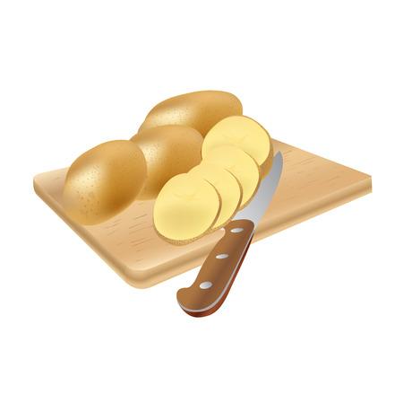 slice: potato slice