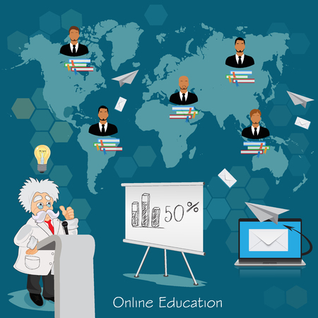 education concept: Science and education concept