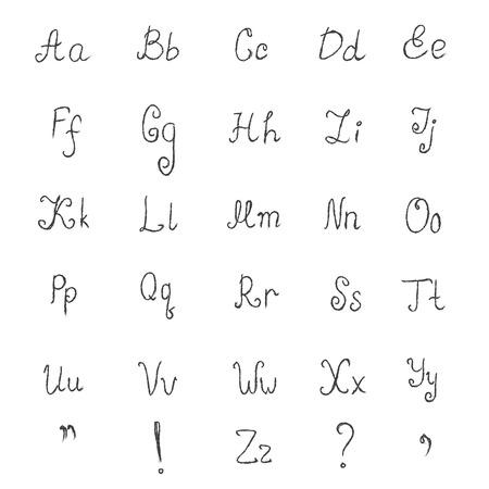 pen and marker: Sketch, alphabet, font, illustration