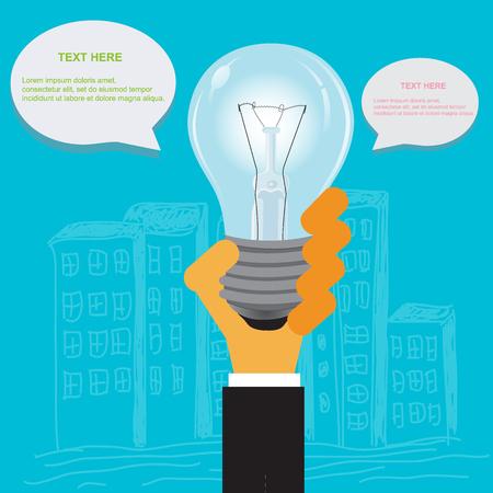 Modern business concepts in flat design for web Illustration