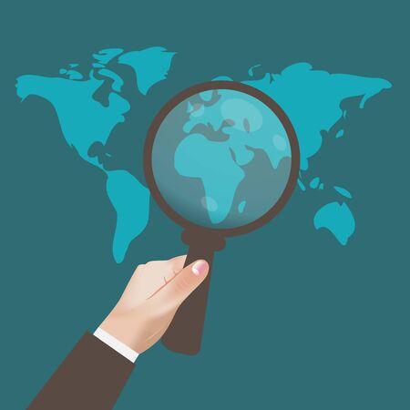 SEO, Optimization, Web, Analytics, Concept, Vector, Illustration Stock Illustratie