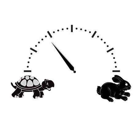 Car, speedometer, animal