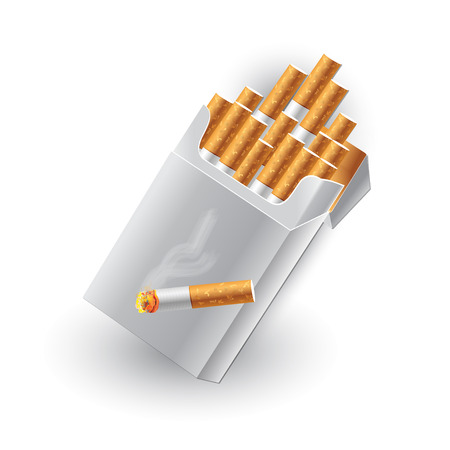 vices: Packet of cigarettes