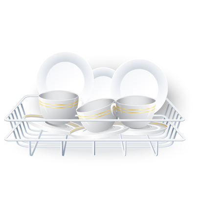 the dishes: Dishes rack