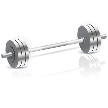 Heavy barbell