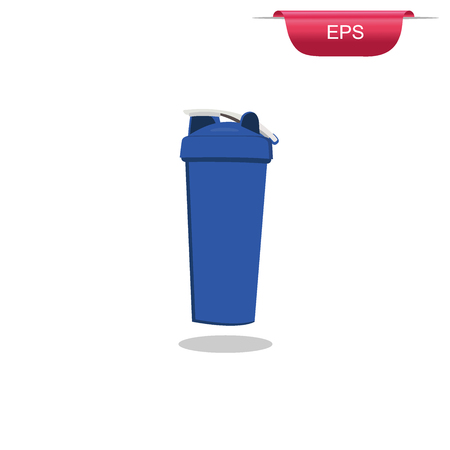protein: protein shaker design element,  vector illustration Illustration