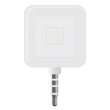 reader: Square card reader Illustration