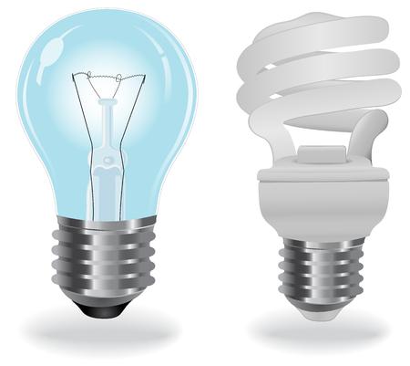 thrift: Two, type, light, bulbs