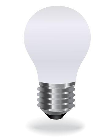 thrift: nergy-Efficient Soft White Bulb Illustration