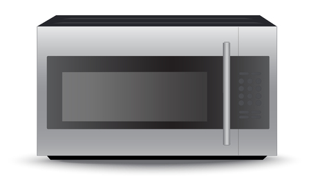 Modern, microwave, oven