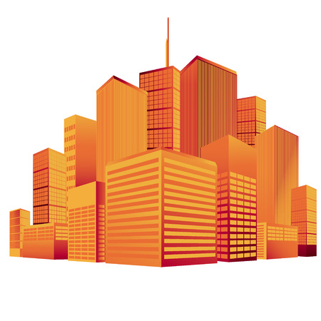 new york skyline: City, skyline, vector, silhouette, New York, Manhattan