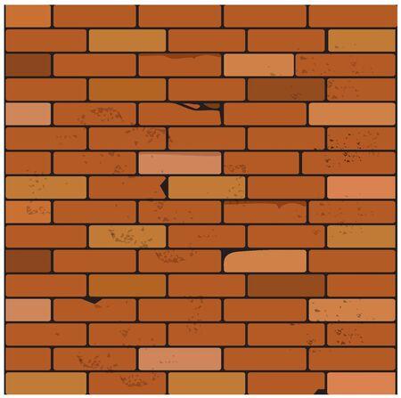 Seamless, brick, wall