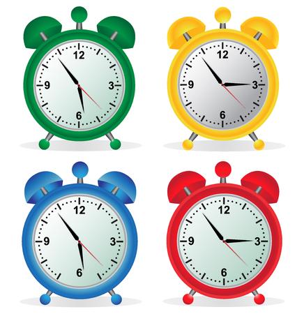 Alarm, klok, instellen