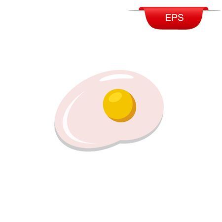 egg, design element, flat, vector illustration