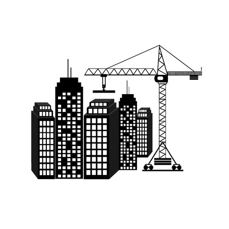 construction icon: construction icon, vector illustration