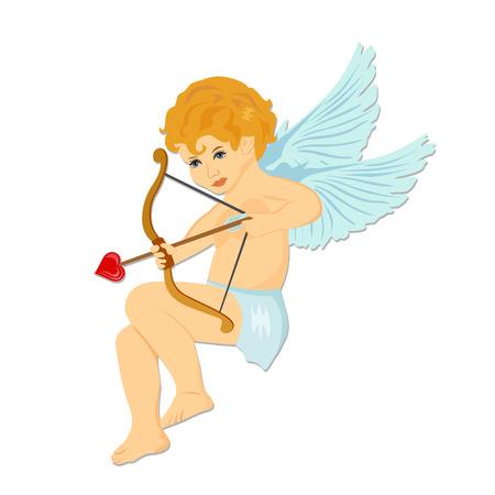 cupid. Valentine's day. vector illustration