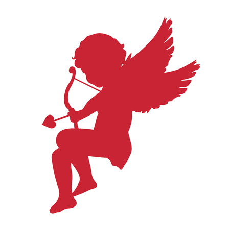 cupid icon. Valentines Day concept. vector illustration