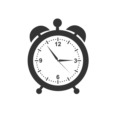 Clock icon Illusztráció
