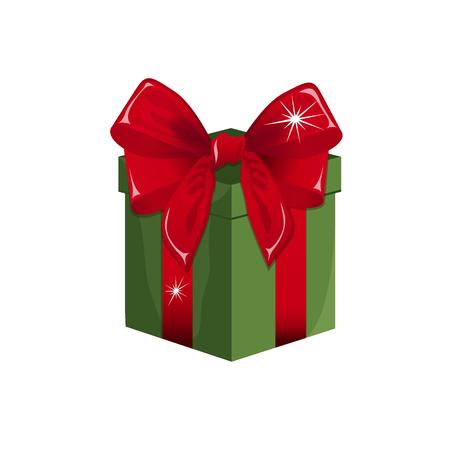 Gift box vector illustration Illustration