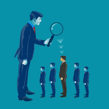 Human Resources, employee search concept. 版權商用圖片 - 99934221