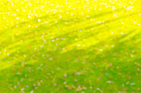 brownish: background bokeh green and yellow