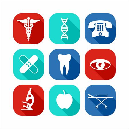 scalpel: Medical icon set.