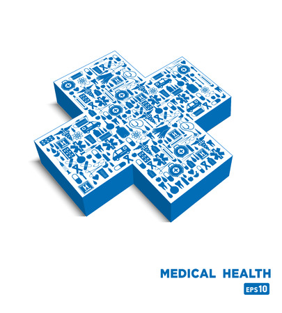 tooling: Medical icon background.