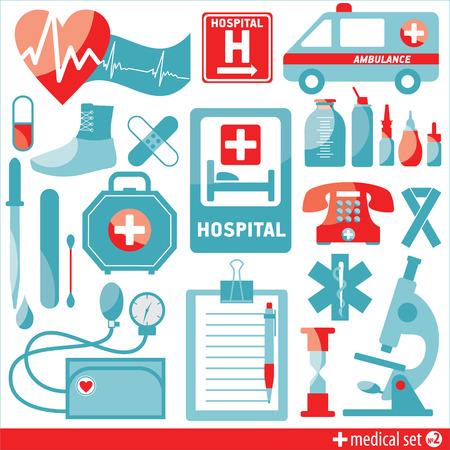 pressure bottle: Medical icon background Illustration