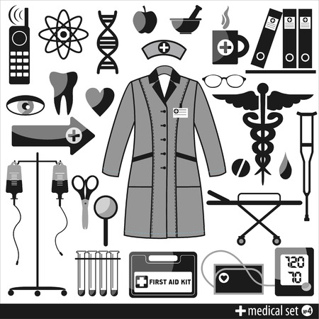 Medical icon. Design element. Vector
