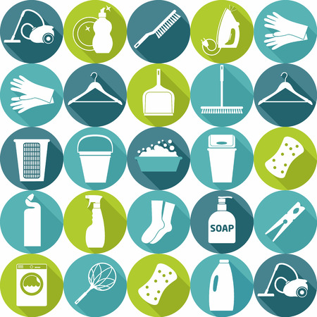 chemical cleaning: Seamless clean pattern Illustration