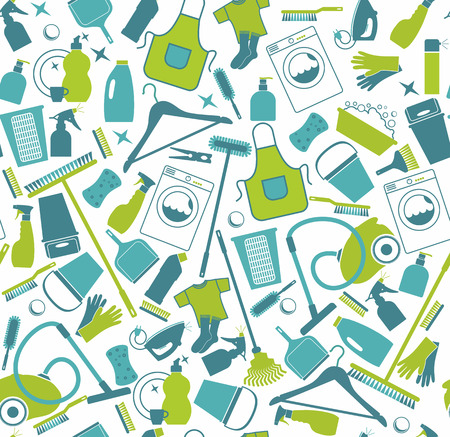 Clean seamless background. Vector