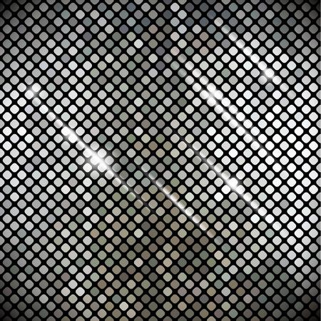 metallic background: Abstract metallic background