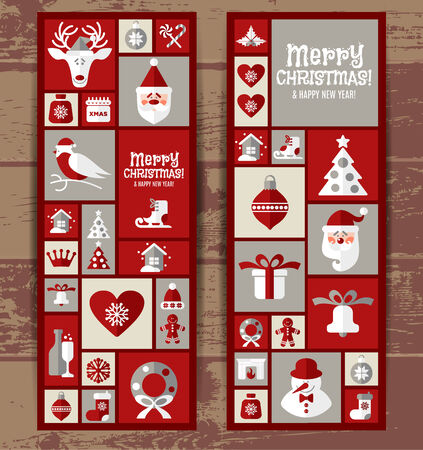 Christmas background decoration. Vector