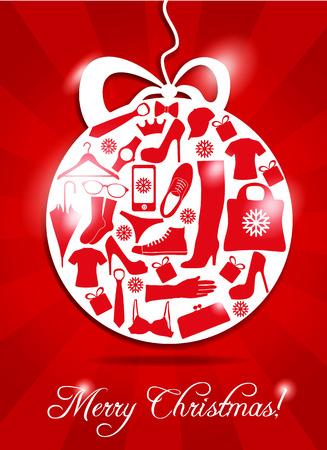 retail business: Christmas ball.