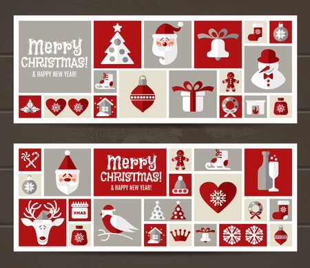 Christmas background presentation. Vector