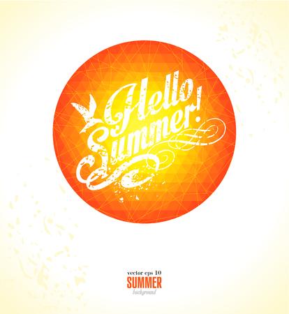 holliday: Summer background.