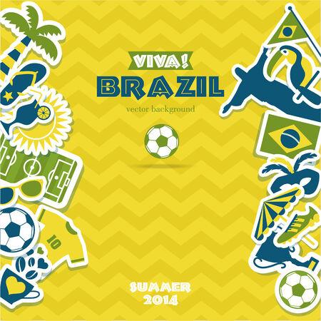 brazil symbol: Brazil background