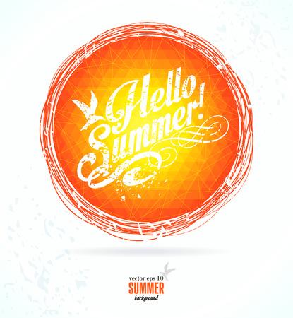 holliday: Summer background