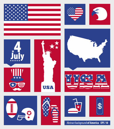 American design elements Vector