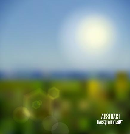 doğa arka: Soyut doğa arka plan Çizim