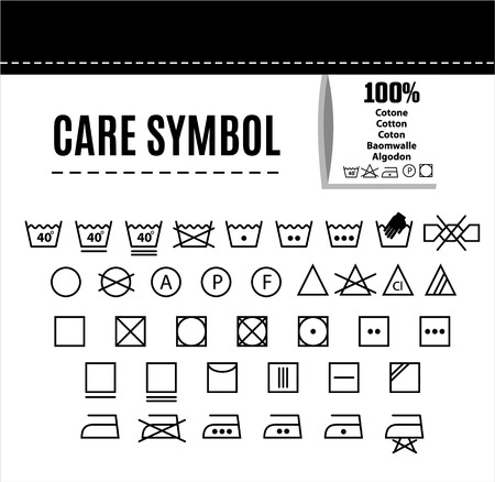synthetic: Care icon set.