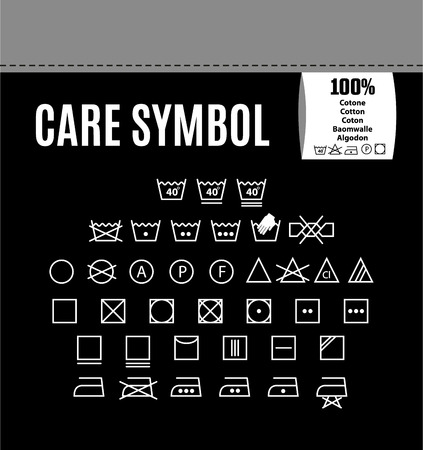 to care: Care icon set.