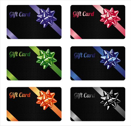 Gift card set.Different nominations. Zdjęcie Seryjne - 37805710