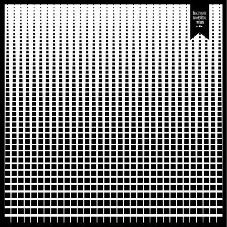 Square blend geometrical pattern Illustration